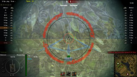 Прицел для World of Tanks 0.9.0 Хищник