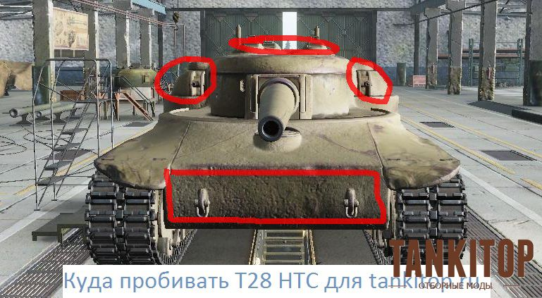Куда пробивать T28 HTC