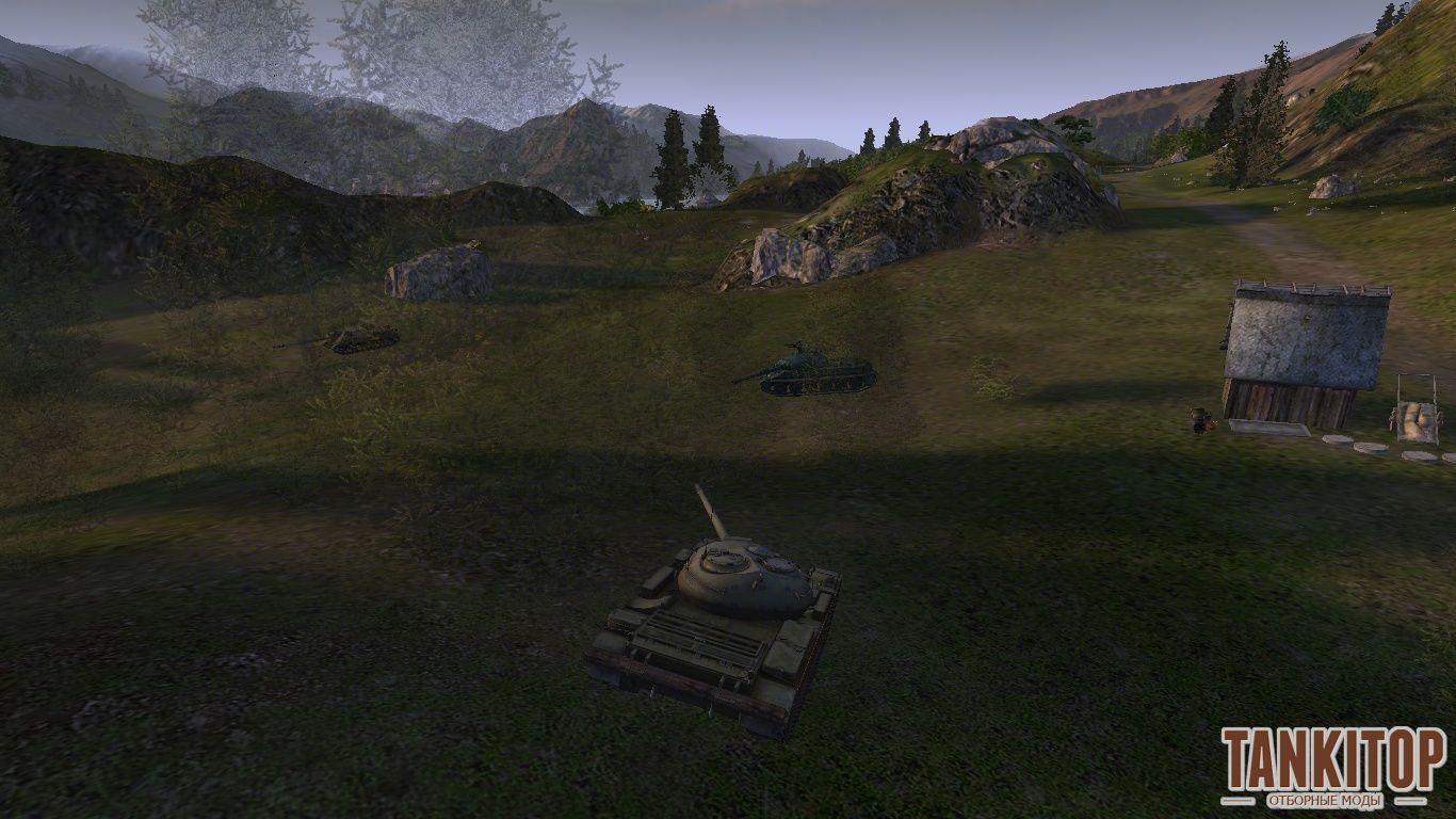 Скачать мод крона деревьев