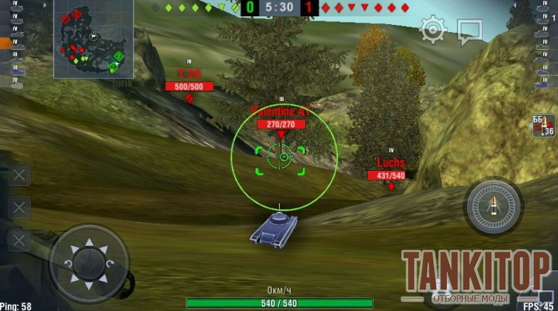 World of tanks морда
