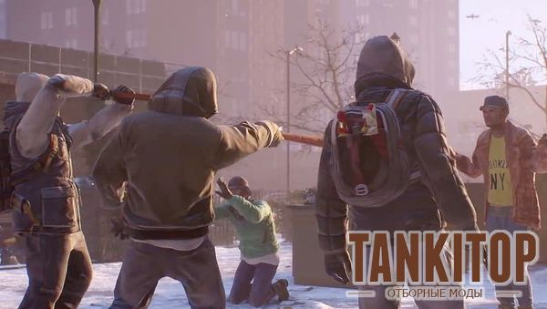 Tom Clancy's The Division и русская братва!