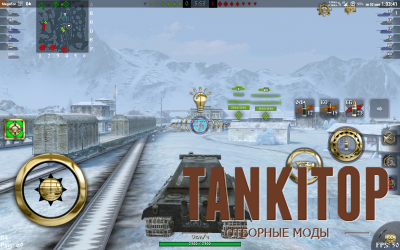 Прицел Golden Eye для World of Tanks Blitz