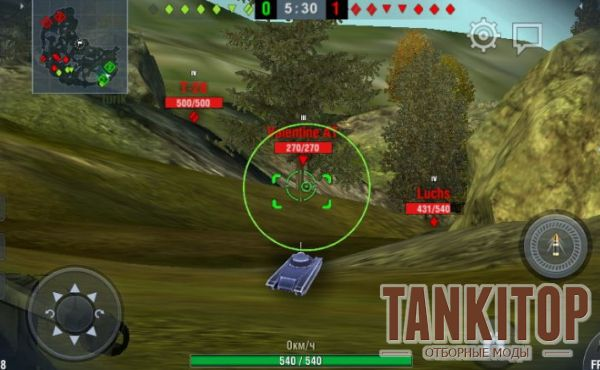 CrossPoint прицел для World of Tanks Blitz 2.10