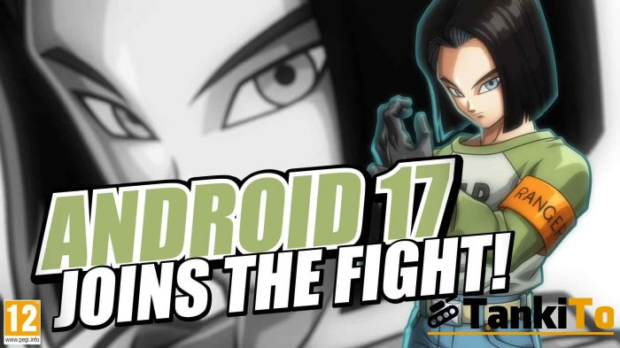 Android 17 и Cooler в Dragon Ball FighterZ
