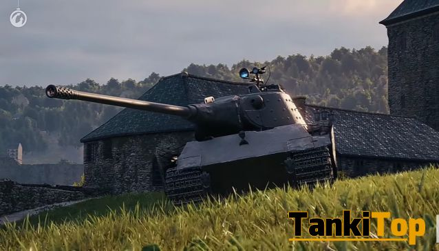 Как играть на E 75 TS [World of Tanks].